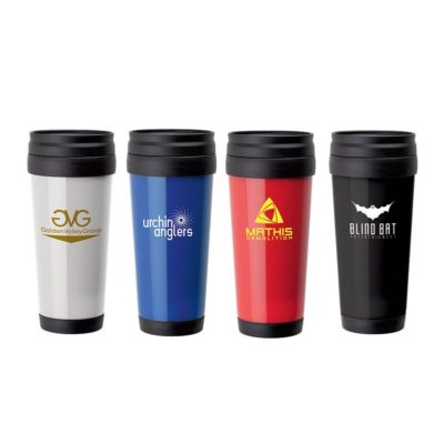 16 oz. Double Wall PP Tumbler w/ Slider Lid