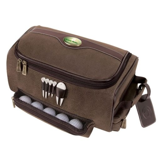 Giusti Shoe Bag w/Golf Tees & Divot Tool