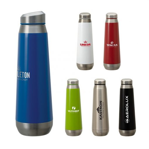Perka Trevi 17 oz. Double Wall Stainless Steel Bottle