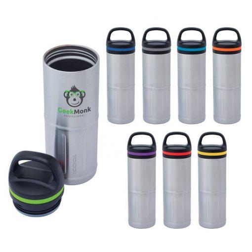 iCOOL Odin 20 oz. Stainless Steel Vacuum Water Bottle