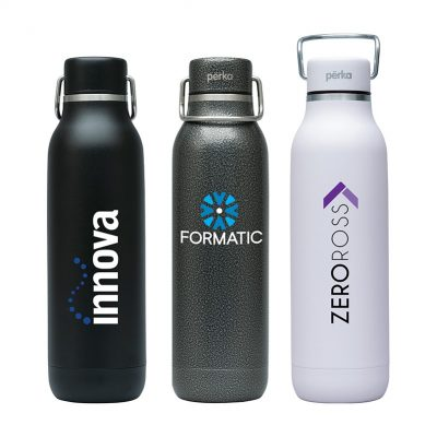 Perka Dashing 20 oz. Double Wall Stainless Steel Bottle